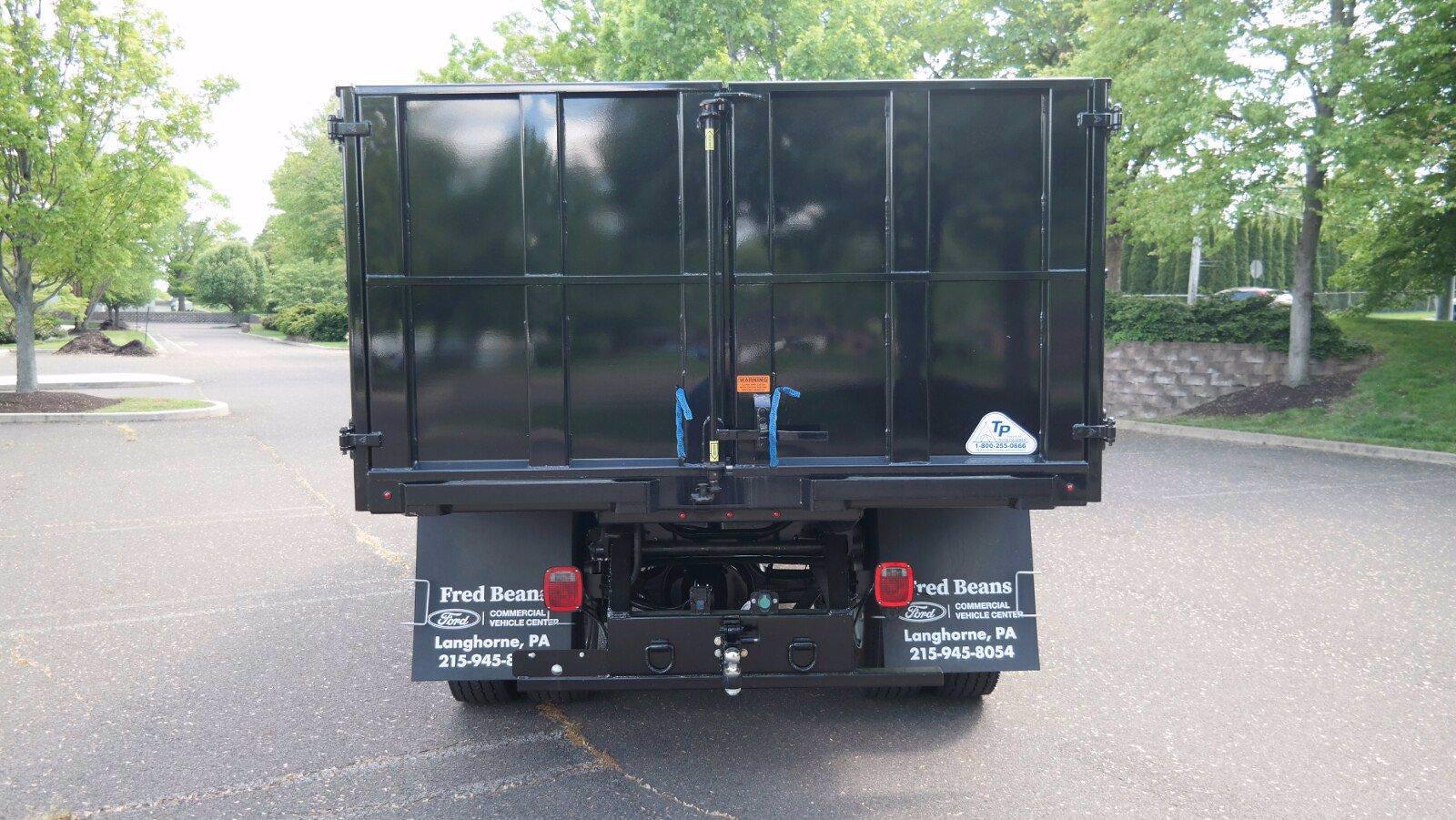 2022 Ford F-750 Crew Cab DRW 4x2, TP Trailers Inc. Landscape Dump #FLU10237 - photo 23