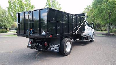 2022 F-750 Crew Cab DRW 4x2,  TP Trailers Inc. Landscape Dump #FLU10237 - photo 25