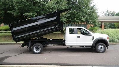 2021 F-450 Super Cab DRW 4x4,  Rugby Landscape Dump #FLU10264 - photo 6