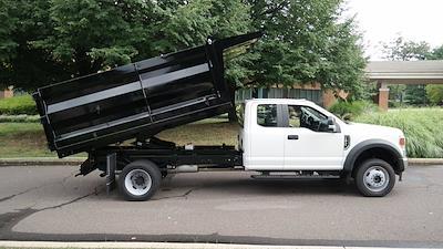 2021 F-450 Super Cab DRW 4x4,  Rugby Landscape Dump #FLU10264 - photo 19