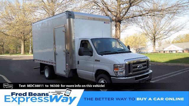 2021 Ford E-350 4x2, Morgan Parcel Aluminum Cutaway Van #FLU10282 - photo 1