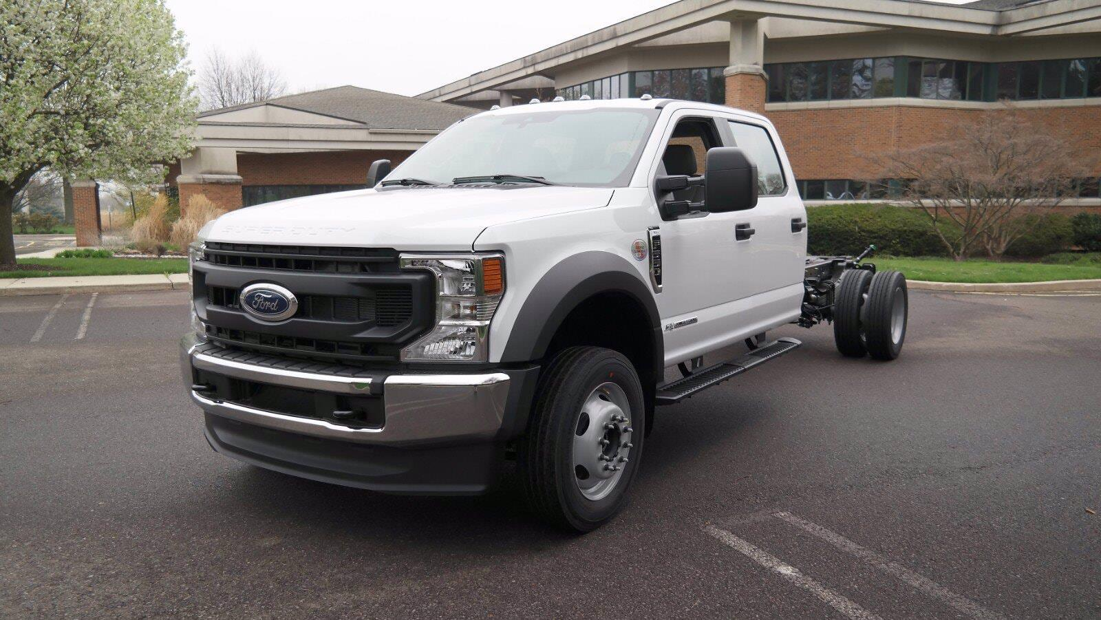 2021 Ford F-550 Crew Cab DRW 4x4, Cab Chassis #FLU10311 - photo 4