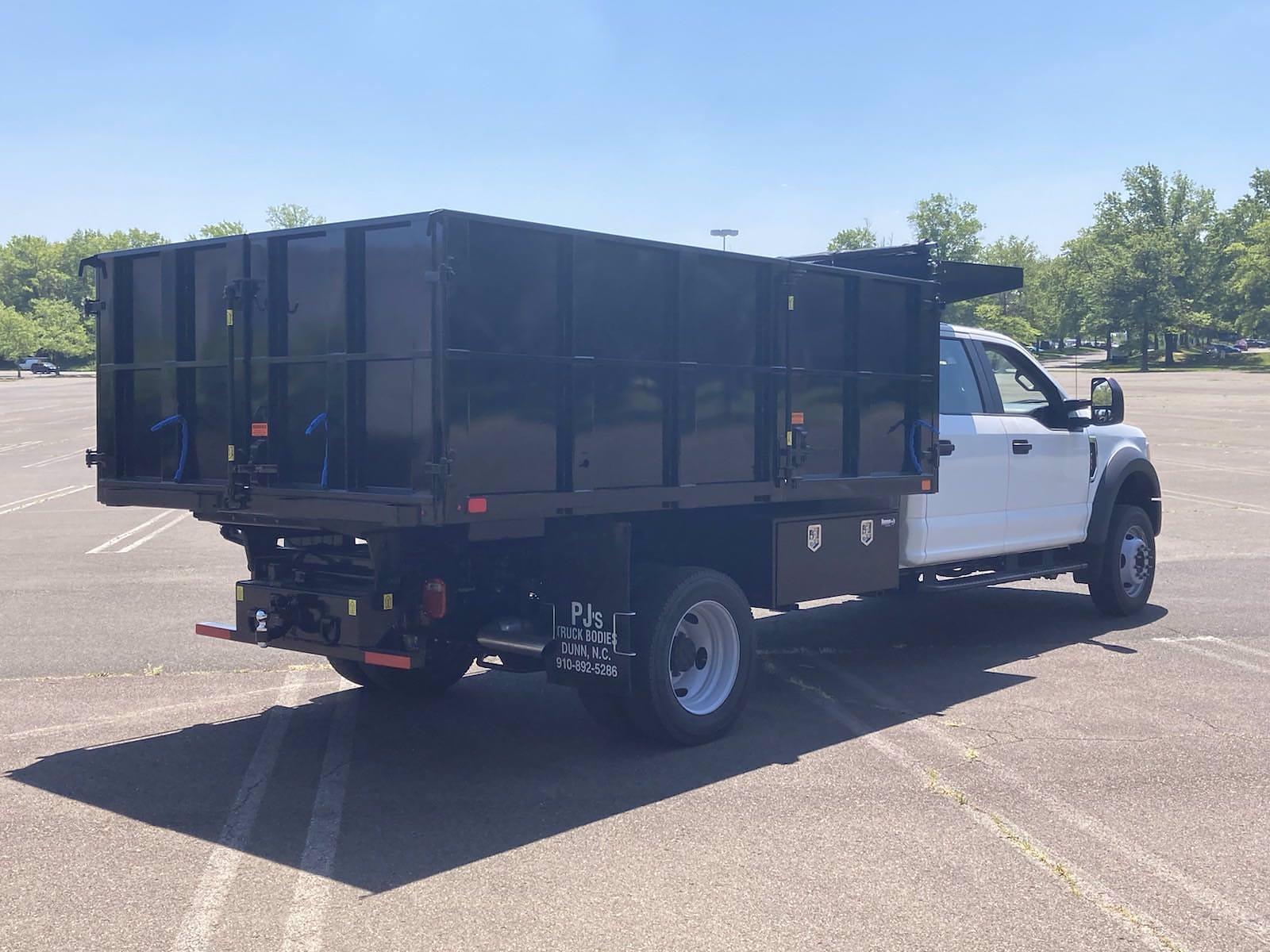 2021 Ford F-450 Crew Cab DRW 4x4, PJ's Landscape Dump #FLU10331 - photo 1