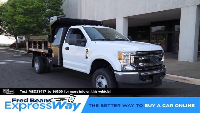 2021 Ford F-350 Regular Cab DRW 4x4, Godwin 184U Dump Body #FLU10341 - photo 1