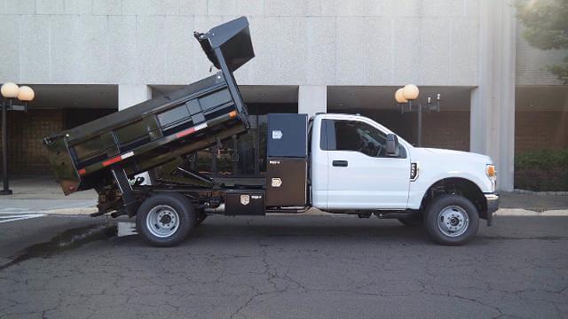 2021 Ford F-350 Regular Cab DRW 4x4, Godwin 184U Dump Body #FLU10341 - photo 16