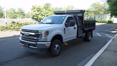 2021 Ford F-350 Regular Cab DRW 4x4, Godwin 184U Dump Body #FLU10341 - photo 4