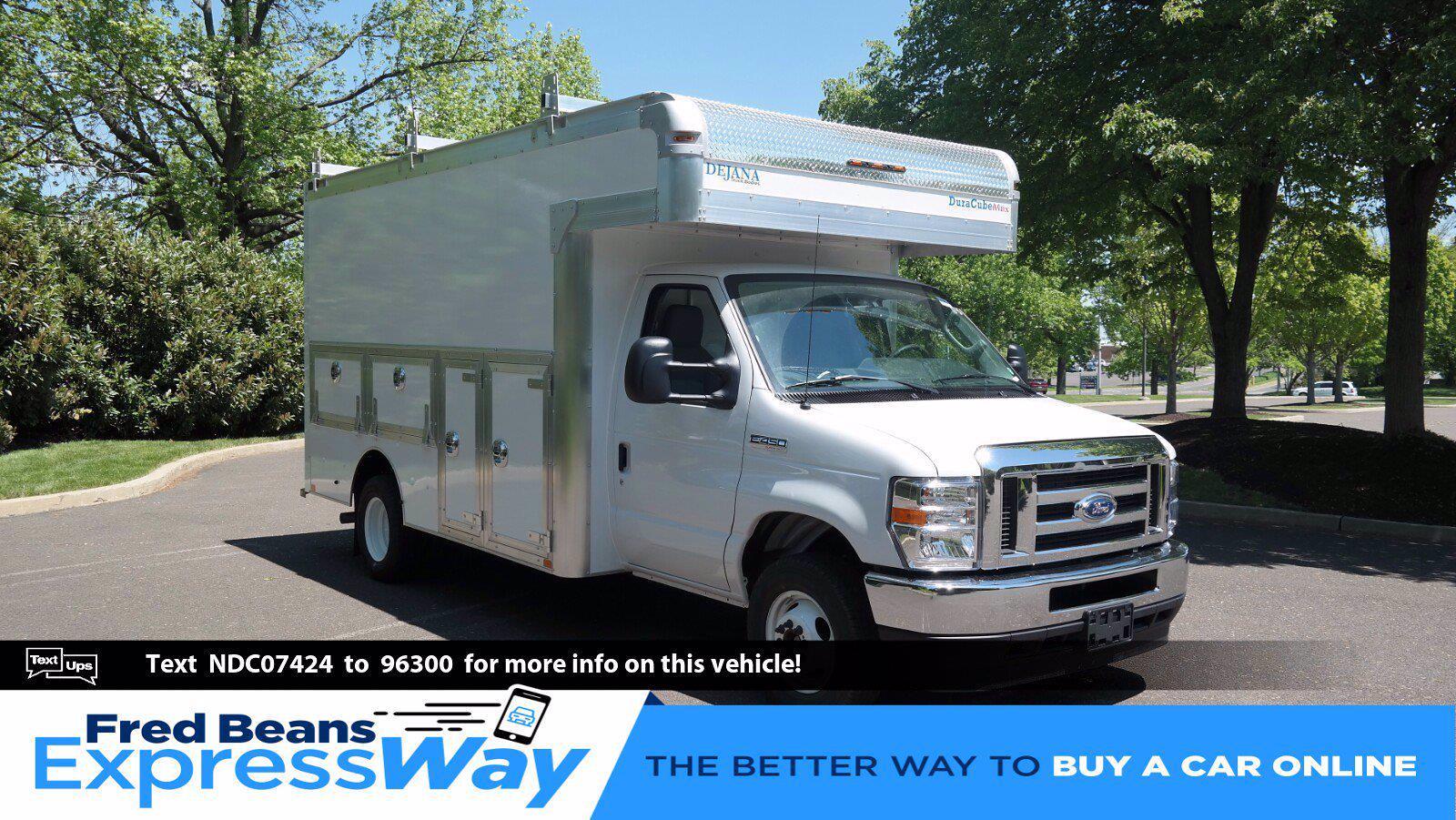 2022 Ford E-450 4x2, Dejana DuraCube Max Service Utility Van #FLU10362 - photo 1