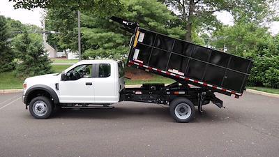 2021 Ford F-550 Super Cab DRW 4x4, Landscape Dump #FLU10398 - photo 5