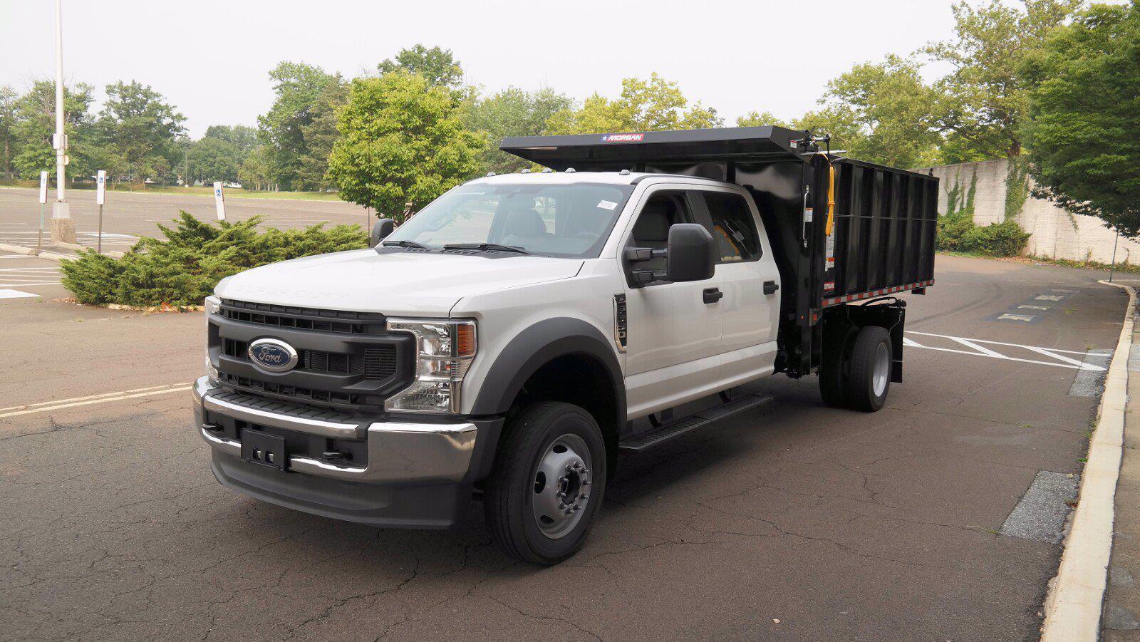 2021 Ford F-550 Crew Cab DRW 4x4, Morgan Landscape Dump #FLU10399 - photo 18