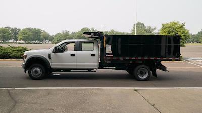 2021 Ford F-550 Crew Cab DRW 4x4, Morgan Landscape Dump #FLU10399 - photo 5