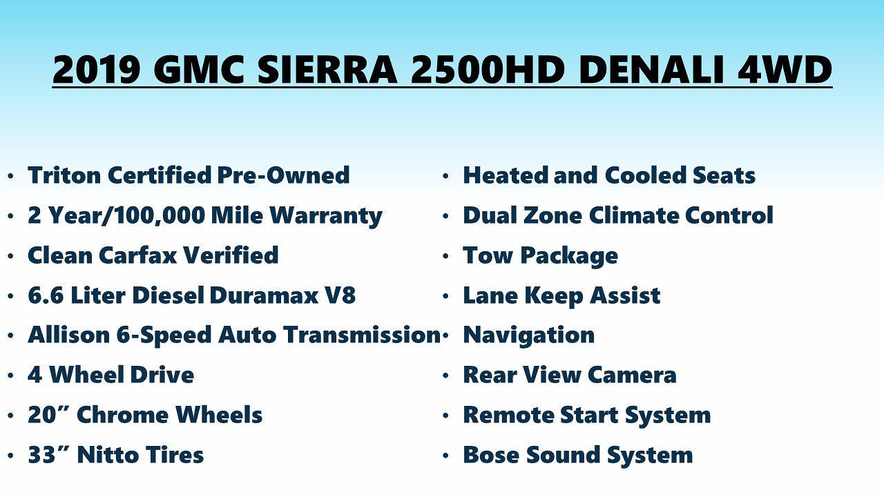 2019 Sierra 2500 Crew Cab 4x4,  Pickup #FLU104071 - photo 11