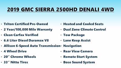2019 GMC Sierra 2500 Crew Cab 4x4, Pickup #FLU104071 - photo 7