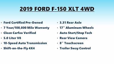 2019 Ford F-150 SuperCrew Cab 4x4, Pickup #FLU104301 - photo 4