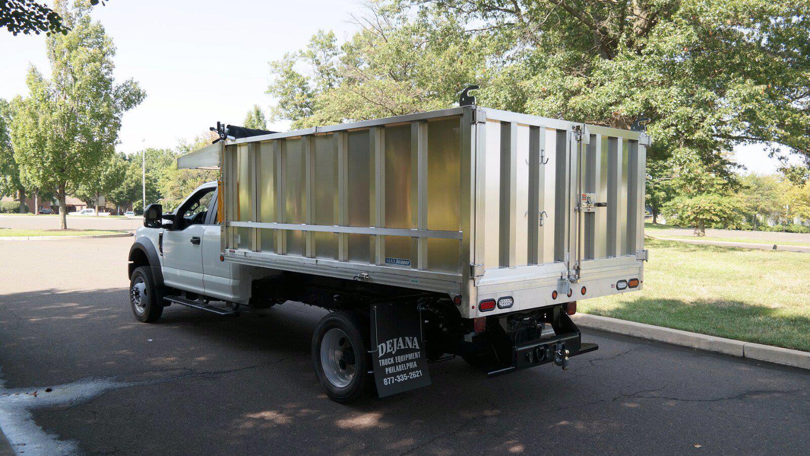 2021 F-450 Super Cab DRW 4x4,  Dejana Truck & Utility Equipment MAXScaper Landscape Dump #FLU10490 - photo 7