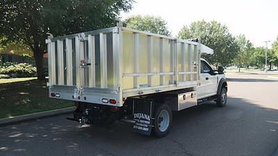 2021 F-450 Super Cab DRW 4x4,  Dejana Truck & Utility Equipment MAXScaper Landscape Dump #FLU10490 - photo 2