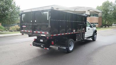 2021 F-550 Super Cab DRW 4x4,  Morgan Truck Body LandscaperPRO Landscape Dump #FLU10554 - photo 2