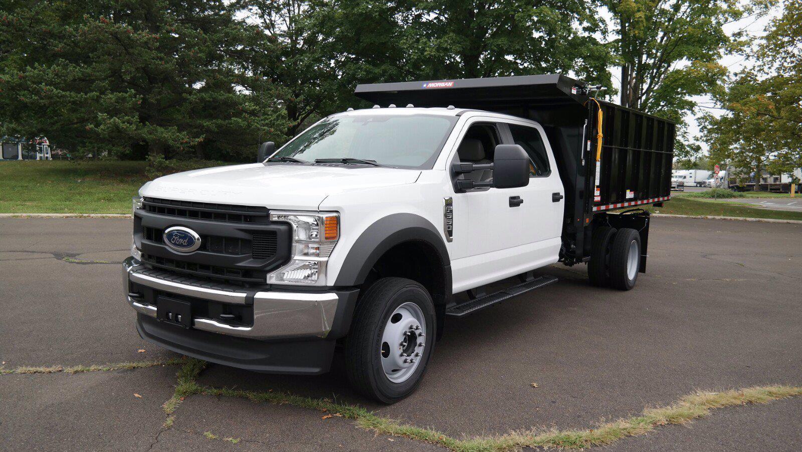 2021 F-550 Crew Cab DRW 4x4,  Morgan Truck Body LandscaperPRO Landscape Dump #FLU10555 - photo 15