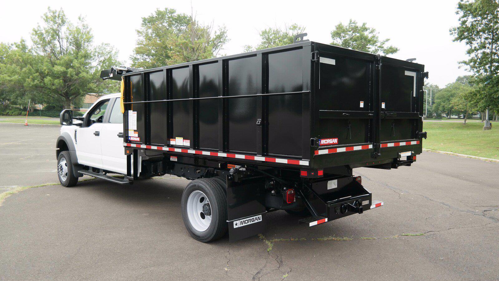 2021 F-550 Crew Cab DRW 4x4,  Morgan Truck Body LandscaperPRO Landscape Dump #FLU10555 - photo 16