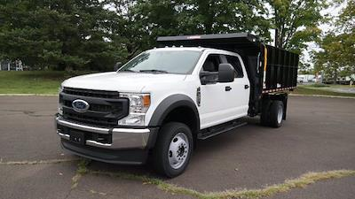 2021 F-550 Crew Cab DRW 4x4,  Morgan Truck Body LandscaperPRO Landscape Dump #FLU10555 - photo 5