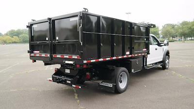 2021 F-550 Crew Cab DRW 4x4,  Morgan Truck Body LandscaperPRO Landscape Dump #FLU10555 - photo 2