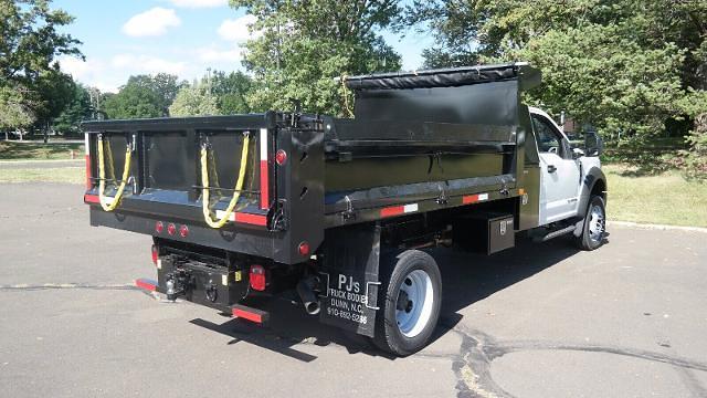 2021 F-550 Regular Cab DRW 4x4,  Dump Body #FLU10609 - photo 14