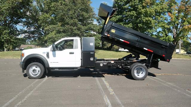 2021 F-550 Regular Cab DRW 4x4,  Dump Body #FLU10609 - photo 9