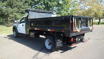 2021 F-550 Regular Cab DRW 4x4,  Dump Body #FLU10609 - photo 12