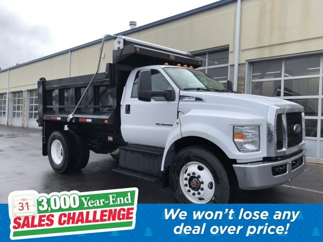 2019 F-650 Regular Cab DRW 4x2,  Godwin 300T Dump Body #FLU34674 - photo 1