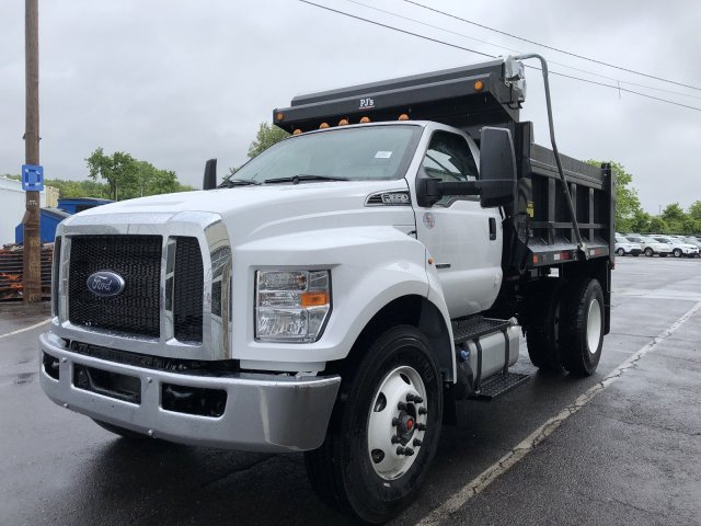 2019 F-650 Regular Cab DRW 4x2,  Godwin 300T Dump Body #FLU34674 - photo 3