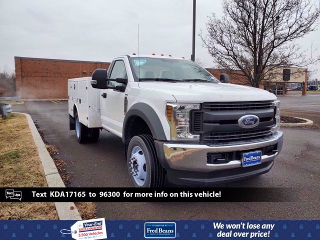 2019 Ford F-550 Regular Cab DRW 4x4, BrandFX Service Body #FL0284P - photo 1