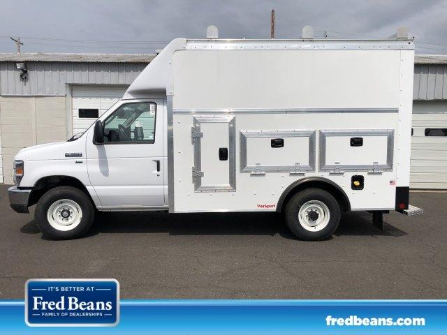 2019 E-350 4x2,  Rockport Workport Service Utility Van #FLU34758 - photo 1
