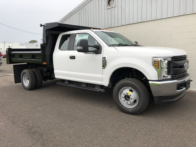 2019 F-350 Super Cab DRW 4x4,  Rugby Eliminator LP Steel Dump Body #FLU34807 - photo 4