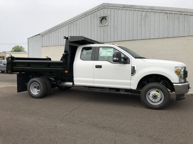 2019 F-350 Super Cab DRW 4x4,  Rugby Eliminator LP Steel Dump Body #FLU34807 - photo 8