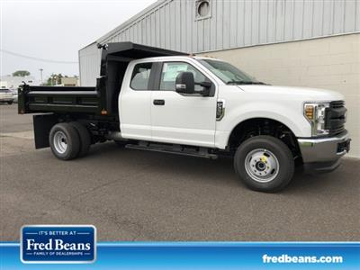2019 F-350 Super Cab DRW 4x4,  Rugby Eliminator LP Steel Dump Body #FLU34807 - photo 1