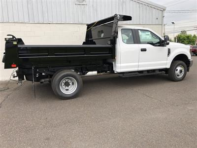 2019 F-350 Super Cab DRW 4x4,  Rugby Eliminator LP Steel Dump Body #FLU34807 - photo 5