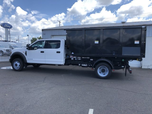 2019 F-550 Crew Cab DRW 4x4,  Switch N Go Drop Box Hooklift Body #FLU34850 - photo 8