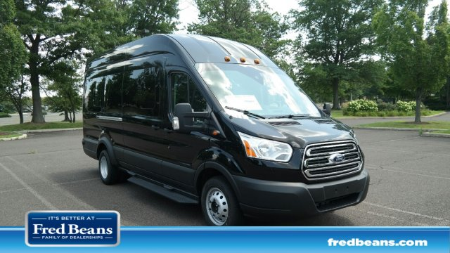 2019 Transit 350 HD High Roof DRW 4x2,  Passenger Wagon #FLU34930 - photo 1