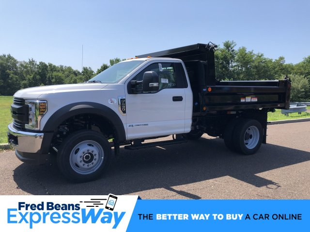 2019 F-450 Regular Cab DRW 4x4, Reading Marauder SL Dump Body #FLU35004 - photo 1