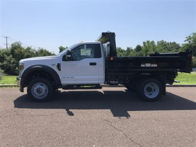 2019 F-450 Regular Cab DRW 4x4, Reading Marauder SL Dump Body #FLU35004 - photo 3