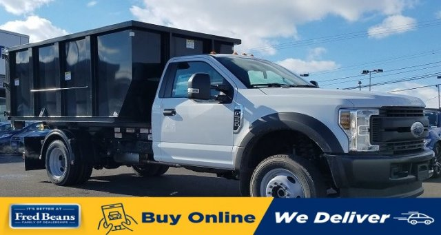 2019 Ford F-550 Regular Cab DRW 4x4, Switch N Go Hooklift Body #FLU35010 - photo 1