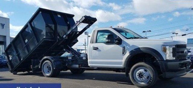 2019 F-550 Regular Cab DRW 4x4, Switch N Go Drop Box Hooklift Body #FLU35010 - photo 11