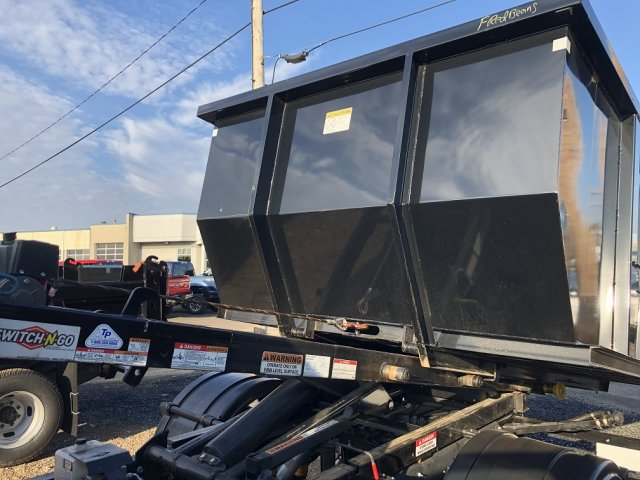2019 F-550 Regular Cab DRW 4x4, Switch N Go Drop Box Hooklift Body #FLU35010 - photo 5