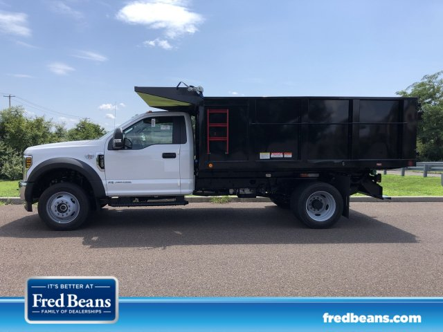 2019 F-450 Regular Cab DRW 4x4,  Freedom Landscape Dump #FLU35019 - photo 1
