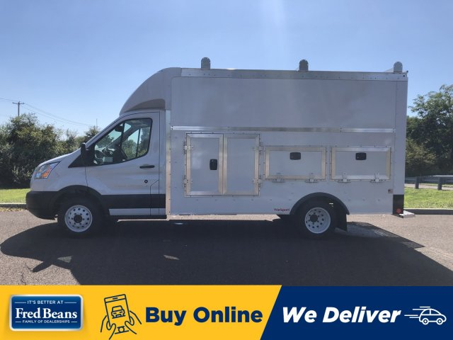 2019 Transit 350 HD DRW 4x2,  Rockport Workport Service Utility Van #FLU35024 - photo 1
