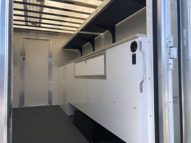 2019 Transit 350 HD DRW 4x2,  Rockport Workport Service Utility Van #FLU35024 - photo 6