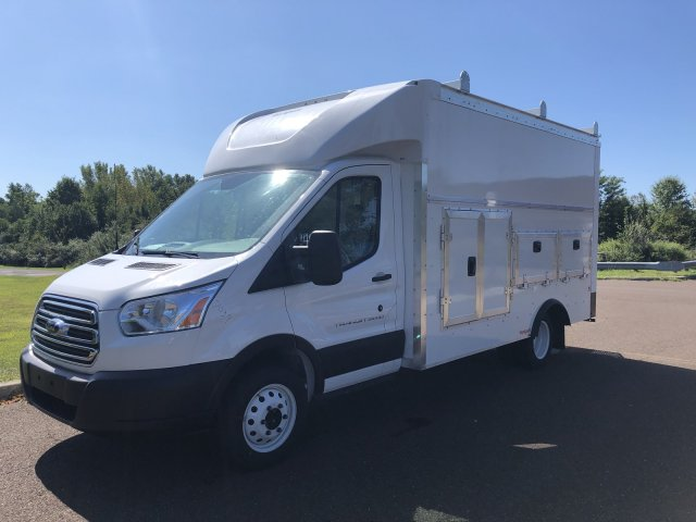2019 Transit 350 HD DRW 4x2,  Rockport Workport Service Utility Van #FLU35024 - photo 8