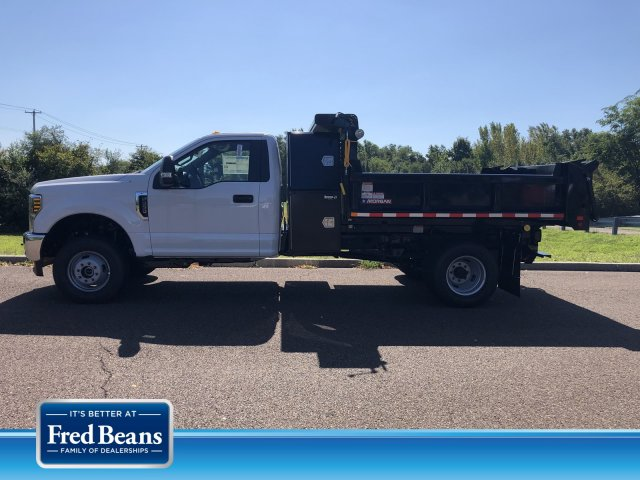 2019 F-350 Regular Cab DRW 4x4, Morgan Dump Body #FLU35082 - photo 1