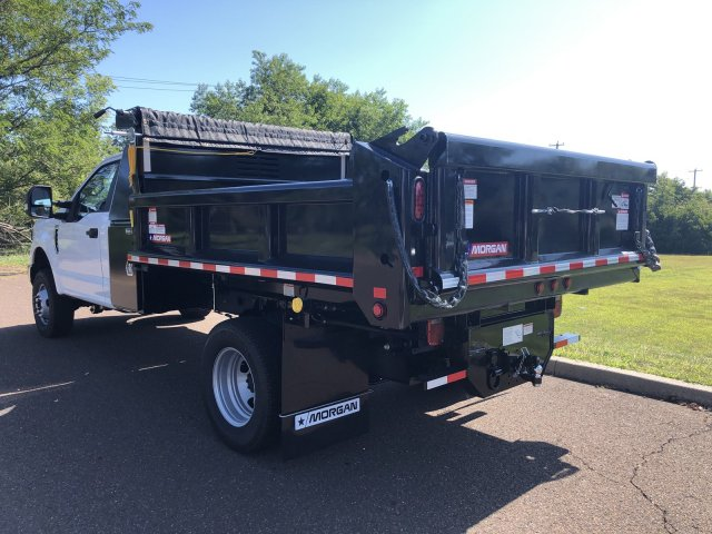 2019 F-350 Regular Cab DRW 4x4, Morgan Dump Body #FLU35082 - photo 2