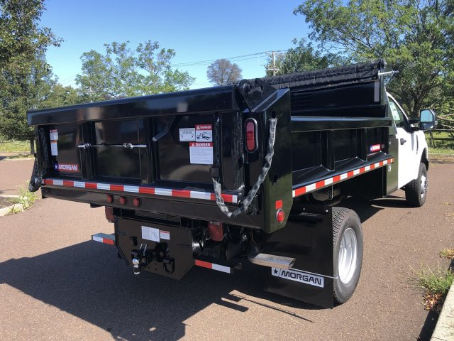 2019 F-350 Regular Cab DRW 4x4, Morgan Dump Body #FLU35082 - photo 5