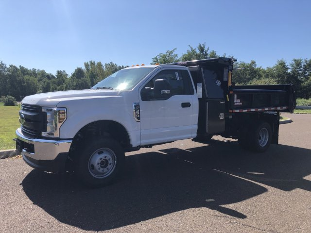2019 F-350 Regular Cab DRW 4x4, Morgan Dump Body #FLU35082 - photo 7